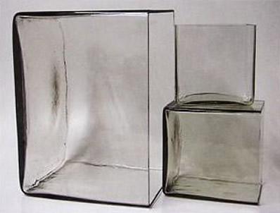 Цельностеклянные аквариумы из 60-х годов прошлого века