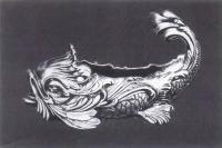 Чаша в форме рыбы. Россия. Фирма Фаберже. Конец XIX—начало XX в.