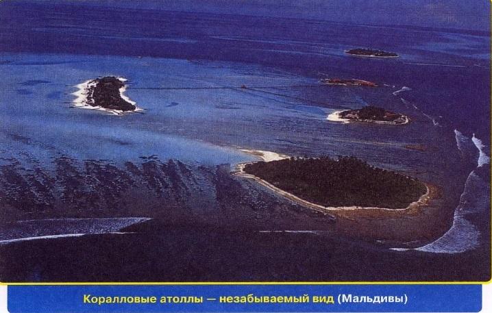 Коралловые атоллы