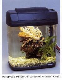 Нанориф в аквариуме с заводской комплектацией