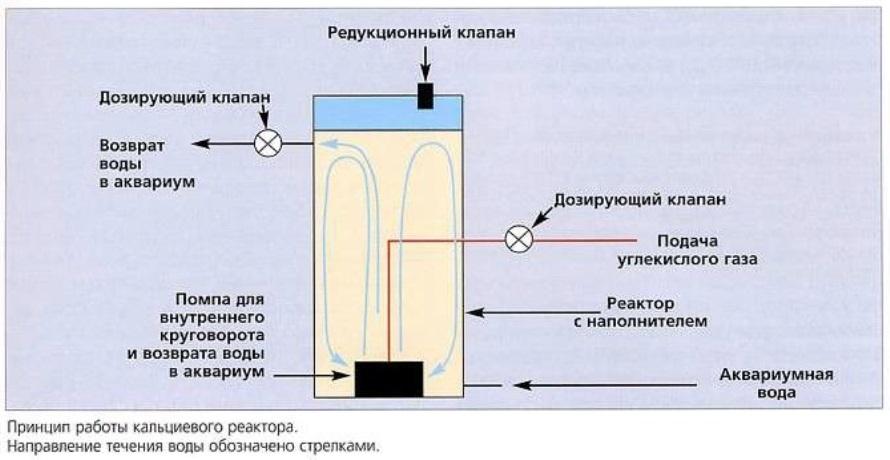 Принцип работы кальциевого реактора
