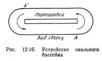 Рис. 12.16. Устройство овального бассейна