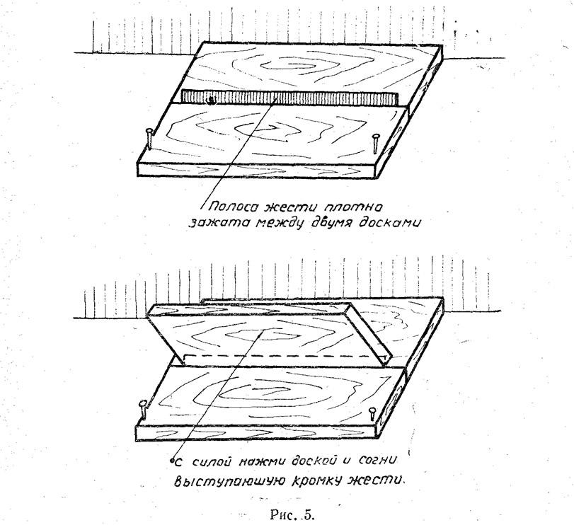 Рис. 5. Изготовление уголков