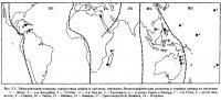 Рис.0.1. Относительная площадь коралловых рифов