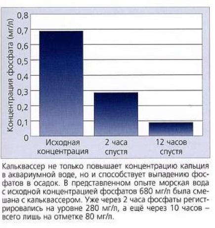 Влияние кальваксера на аквариумную воду